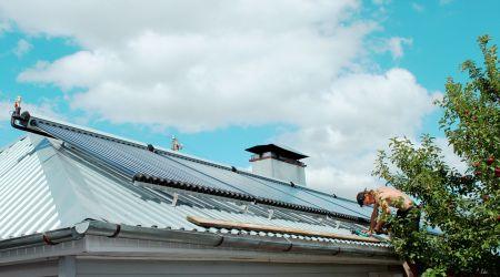 Saulės kolektorių sistema Baltarusijos Borisovo mieste